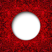 Red abstract texture with round centre — Stock Photo