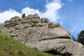 View to Carpathian mountains — Foto Stock