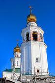 Reconstruction of Svyato-Troitskaya Church — Stock Photo