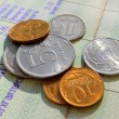 Russian coins — Stock Photo