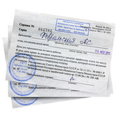 Donor medical certificate help — Stock Photo