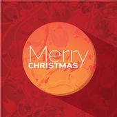 ベクトルのクリスマスまたは新年のカード — ストックベクタ