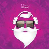 Weihnachten-Hipster-Poster für Party oder Karte. — Stockvektor