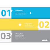 Modern flat design infographics — Stock Vector