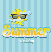 Abstract summer  background . — 图库矢量图片