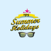 Abstract summer  background . — Wektor stockowy