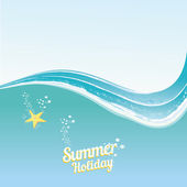 Abstract summer  background . — Stockvector