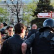 MOSCOW MAY 7: Riot police at an opposition protest against president Putins inauguration on May 7, 2012 in Moscow, Russia. - Stock Photo