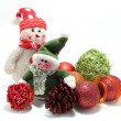 Toy Snowman — Stock Photo #14090879