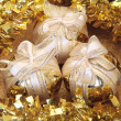 Golden Christmas Decoration - Stock Photo