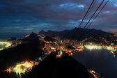 Rio de janeiro från sockertoppen — Stockfoto