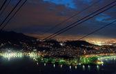 Rio de janeiro na noite — Foto Stock