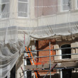 Building under renovation - Stock Photo