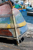Old fishing boat — Stock Photo