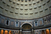 Interior of the Patheon in Rome — Stock Photo