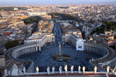Arial view of the Vatican City — Stock Photo