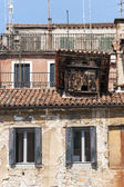 Old houses in Venice — Stock Photo