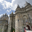 Vitre, Brittany, castle - 