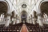 Gace - wnętrze kościoła — Zdjęcie stockowe