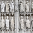 Rouen - Cathedral exterior, detail — Stock Photo