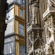 Rouen - Saint-Maclou square — Stock Photo