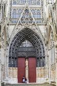 Rouen - Cathedral exterior — Stock Photo
