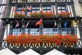 Rouen - Exterior of ancient palace — Stock Photo