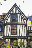 Rouen - Exterior of ancient house — Stock Photo