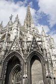 Rouen - Exterior of Saint-Maclou church — Stock Photo