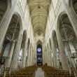 Gisors (Normandy) - Interior of gothic church — Stock Photo