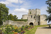 Ruins in Gisors (Normandy) — Stock Photo