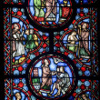 Stock Photo: Beauvais (Picardie) - Cathedral, stained glass