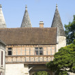 Stock Photo: Medieval village of Longpont (Picardie)