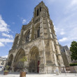 Cathedral of Soissons — Stock Photo