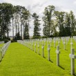 Picardie (France) - American War Cemetery — Stock Photo