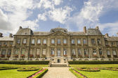 Palace and garden in Soissons — Stock Photo