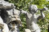 Nancy (France) - Fountain in Stanislas Square — Stock Photo