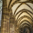 Strasbourg - The gothic cathedral, interior — Foto Stock