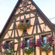 Rosheim (Alsace) - House — Stock Photo