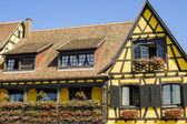 Itterswiller (Alsace) - House — Stock Photo