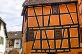 Ribeauvillé (Alzacja) - domy — Zdjęcie stockowe