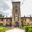 Castle of Mirazzano (Milan) - Stock Photo