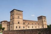 Pandino, castle — Stock Photo