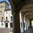Crema (Italy), historic square — Stockfoto
