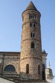 Ravenna - Old belfry — Stock Photo