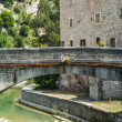 Piobbico, ancient bridge - Stock Photo