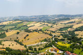 Panorama from Arcevia — Stock Photo