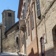 Fermo - Historic buildings - Stock Photo