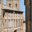 Fermo - Historic buildings - Stok fotoraf