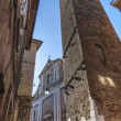 Fermo - Historic buildings — Stock Photo